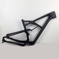 Smileteam 29er Full Suspension Carbon Frame Carbon MTB Frame 29 Mtb Carbon Frame 29er With Cheap