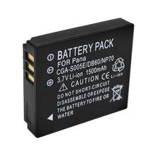 WHCYonline 1500mAh DMW BCC12 CGA S005E CGA S005 BCC12 S005E DB60 NP70 מצלמה סוללה עבור Panasonic Lumix DMC FX180, LX1, LX2, LX3