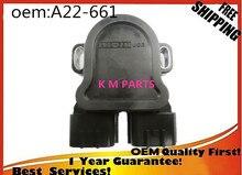 Высокого качества Датчик Положения Дроссельной Заслонки TPS для Дизель Турбо Для Nissan Patrol Y61 ZD30DDTi 3L A22-661 A22661 J03