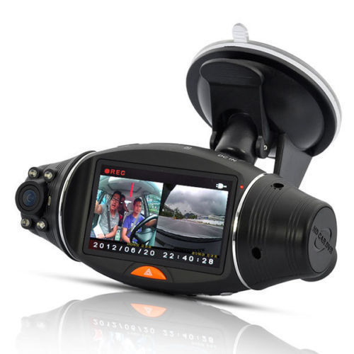 best car dvr r310 dual lens dash cam hd1080p video recorder dvr camera g sensor 2 7 lcd. Black Bedroom Furniture Sets. Home Design Ideas