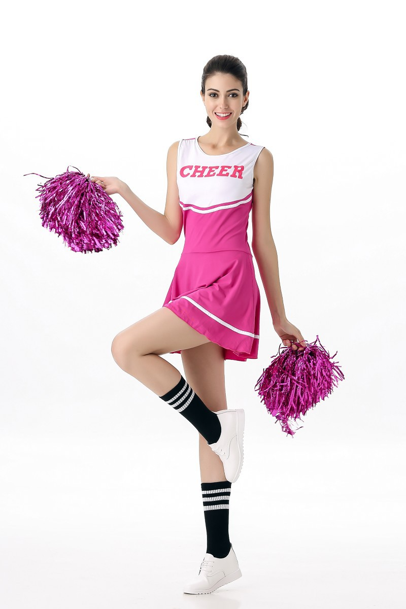 a556290ce72 Girl Performance Sport Game Cheerleader Outfit High School Ladies ...