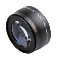 Camera Lens 0 45x Soft Fisheye Wide Angle 52mm With Macro Lens For D3000 D3100 D3200