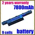 Jigu 7750g nueva batería del ordenador portátil para acer aspire 4551g 4741 5251 5253 5551 5551G 5741 5741G 5742 5742G 5750 as10d75 batería
