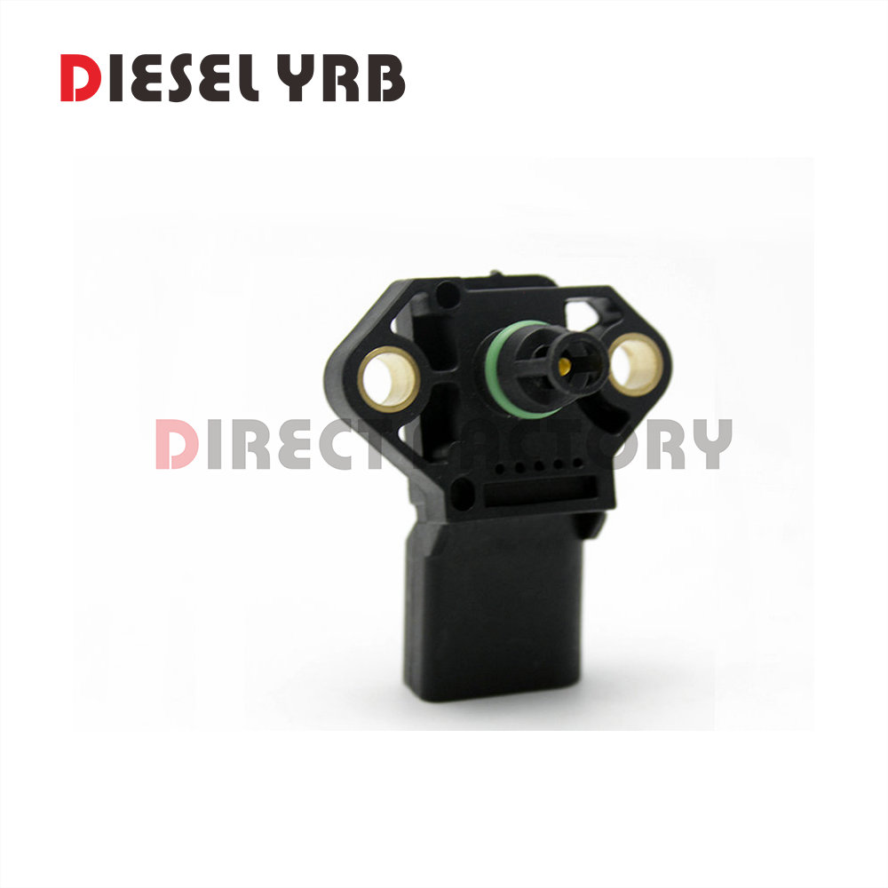 100% Test Intake Air Boost Pressure Map Sensor 0 281 002 401 038 906 051 C For Audi VW Seat Skoda 0281002401 038906051C