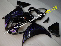 Hot Sales,Blue Flame For Yamaha YZF R1 2009 2010 2011 YZFR1 09 10 11 YZF 1000 YZF1000 Body fairing kit (Injection molding)