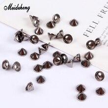 Metal/Acrylic Beads Elliptical Rivet Pumpkin For Jewelry Making Needlework Adornment Necklace Bracelets Women