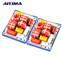 2Pcs KASUN AS 33C 3Way 3 Unit HiFi Speaker Frequency Dividers Frequency Divider Crossover Filters