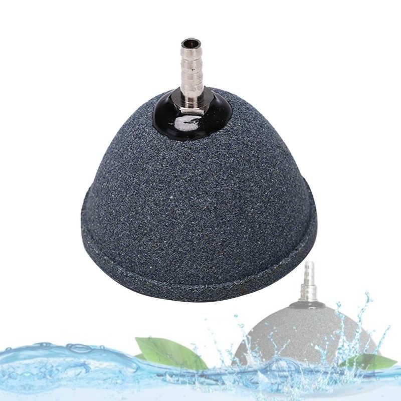 Bomba de estanque de acuario difusor hidropónico tanque de peces burbuja de cerámica aireador de piedra de aire sinterizado piedra Mineral