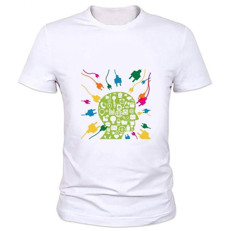 Evolution Of A Gamer Geek Gift Funny Mens T Shirt Geek brain thinking unlimited image printing T-shirt Big Bang Theory Tee