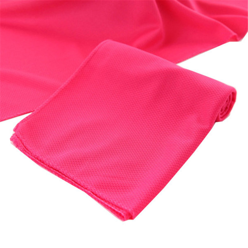 Spa Cold Towels: Creative Cold Sensation Beach Towel Drying Travel Sports