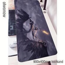 Dark Soulsแผ่น3d 90X40ซม.Notbookแผ่นรองเมาส์เกมMousepadขนาดใหญ่แฟชั่นPadเมาส์PC padmouseเสื่อ