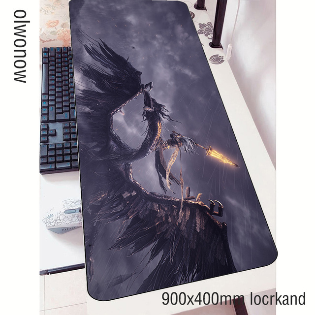 Karanlık ruhlar mouse pad oyun 3d 90x40cm dizüstü fare mat oyun mousepad büyük moda ped fare PC masa pad fare paspaslar