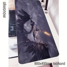 Scuro anime mouse pad gamer 3d 90x40cm notbook tappetino per il mouse gaming mousepad di grandi dimensioni di Moda pad del mouse del PC scrivania padmouse stuoie