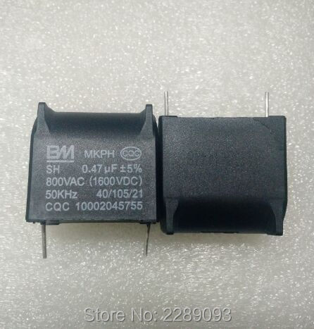 Cooker Capacitor MKPH SH 0.47uf 800VAC 1600VDC 50KHz