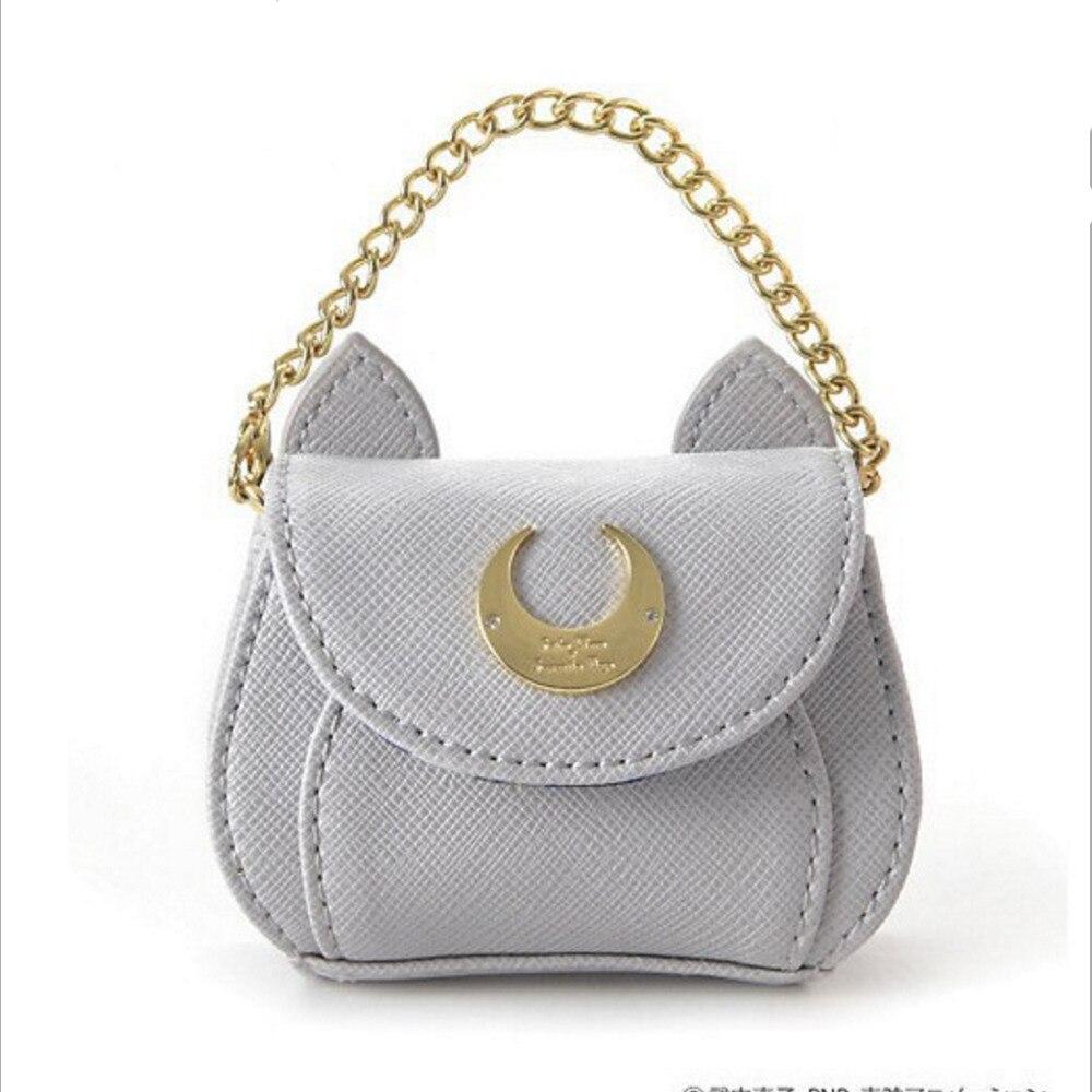 9cm girl Sailor Moon 20th anniversary diana mini coin bag chain keychain ringchain