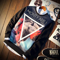 2016 Моды толстовка Мужчины толстовки Sudaderas Hombre мужской толстовка мужская повседневная Полный Рукава пуловер большой размер 5xl