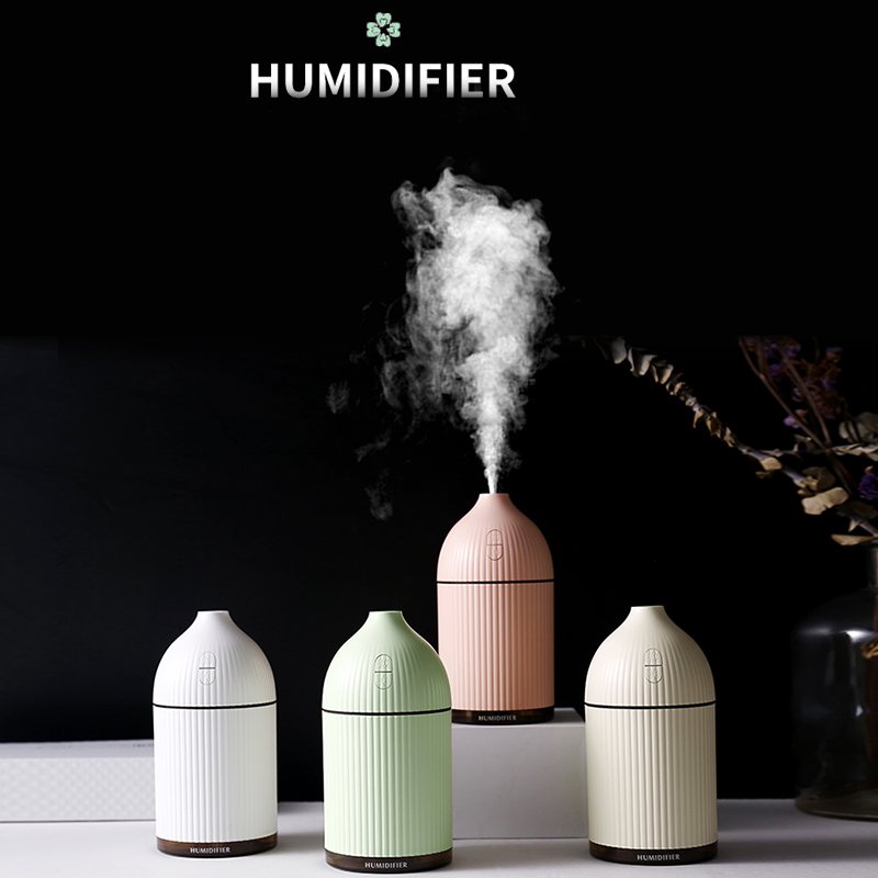 300ml Air Humidifier Ultrasonic USB Aroma Essential Oil Diffuser Built In Aroma Tablets For Car Office Home Air Purifier