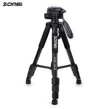 On sale 100% Zomei Q111 Professional Pro Camera Tripod Video Camera Stand 56 Inches Lightweight Flexible Aluminum Tripod With Bag