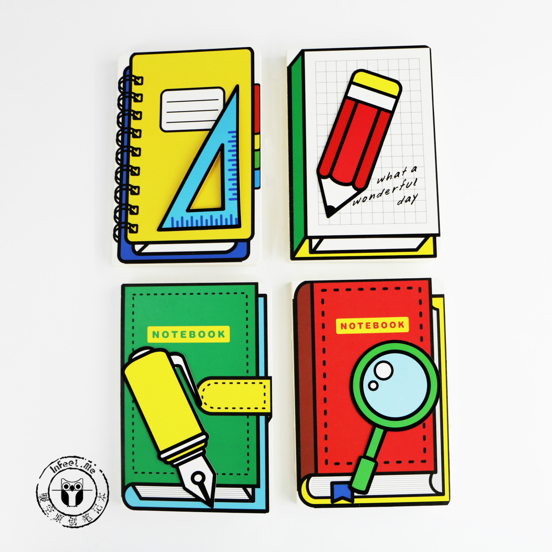 Quadratic Element Creative Stationery School Supplies A5 Notebook Blank Pages Note Book class numbers quadratic and cyclotomic fields