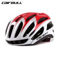 CAIRBULL Lekkie Oddychające 29 otwory wentylacyjne Kask Drogowe MTB Rower Rower PC + EPS Integralnie Kask Sport Bezpieczeństwa 7 kolory