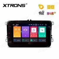 8'' Android 8.0 Octa Core Car DVD Player GPS Radio for vw Volkswagen Bora Golf Plus Passat CC Touran Vento Seat For Skoda