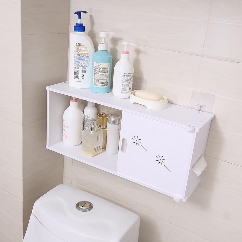 OUSSIRRO Bathroom Shelves Wall hanging Shampoo Cosmetics Storage ...