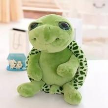 20CM Big Eyes Turtle Plush Toys Tortoise Animals Dolls