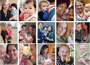 Image 5 - 1000 adet/grup BPA ücretsiz 14mm gevşek silikon altıgen boncuk bebek emzik diş kaşıyıcı kolye bebek kukla çiğneme diş çıkarma takı
