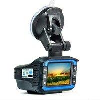 3 In 1 Car DVR Camera 2 4 TFT Russian Vision Car Radar Detector GPS Logger