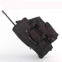 Многофункциональный дорожные сумки прокатки Чемодан комплект съемный плечевой чемодан колеса 20 дюймов Cabin Trolley сумка для ноутбука Trunk