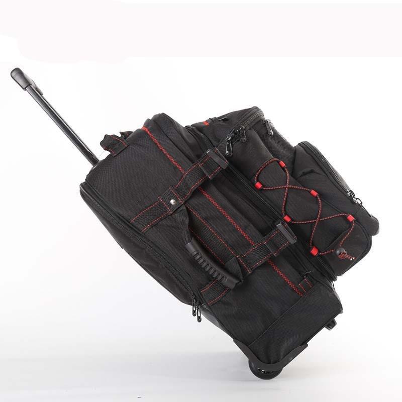 Letrend 다기능 여행 가방 롤링 수하물 세트 분리형 어깨 가방 바퀴 20 인치 캐빈 트롤리 노트북 가방 트렁크-에서여행 가방부터 수화물 & 가방 의  그룹 1