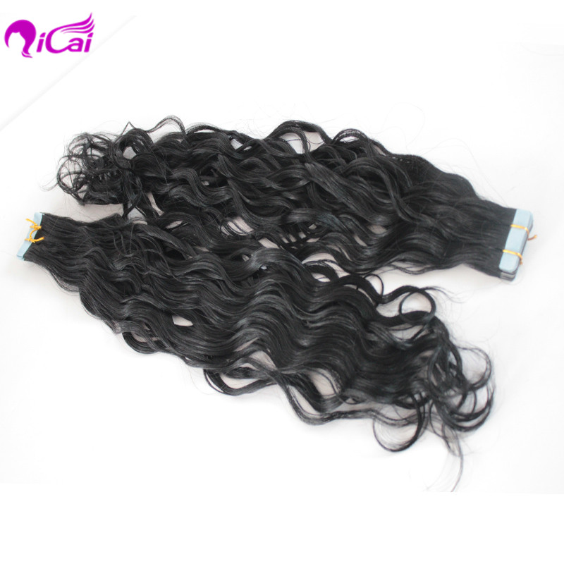 Free shipping wavy tape hair extensions virgin brazilian hair tape free shipping wavy tape hair extensions virgin brazilian hair tape in hair extension adhesive tape hair virgin tape skin weft in skin weft hair extensions pmusecretfo Images