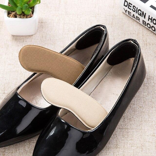 Bộ 10 = 5 Đôi Giày Lót Đế Lắp Gót Tấm Bảo Vệ Chống Trơn Trượt Đệm Lót Thoải Mái Gót Lót Đệm Miếng Lót Vô Hình miếng Lót Trong