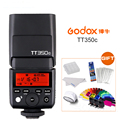 GODOX TT350C Мини Вспышка комбинация 2 4G TTL GN36 для Canon 5D Mark III/IV 80D 70D 7D 6D 760D 750D 700D 60D 600D 6D 5DIV