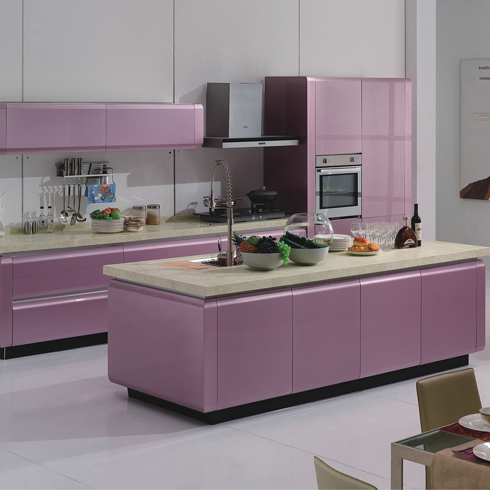 Mdf Kitchen Cabinets Price: Linkok Furniture China Wholesale Manufacture Lacquer Faced