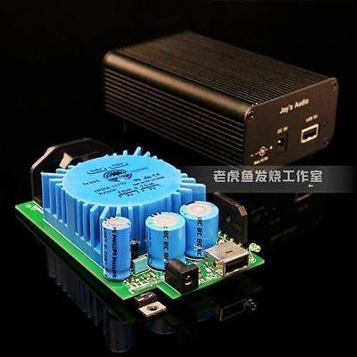 AC 220v HiFi PSU 15VA DC 5V 2.0A high-end Linear Power supply with USB port for XMOS 6631 Raspberry Pi