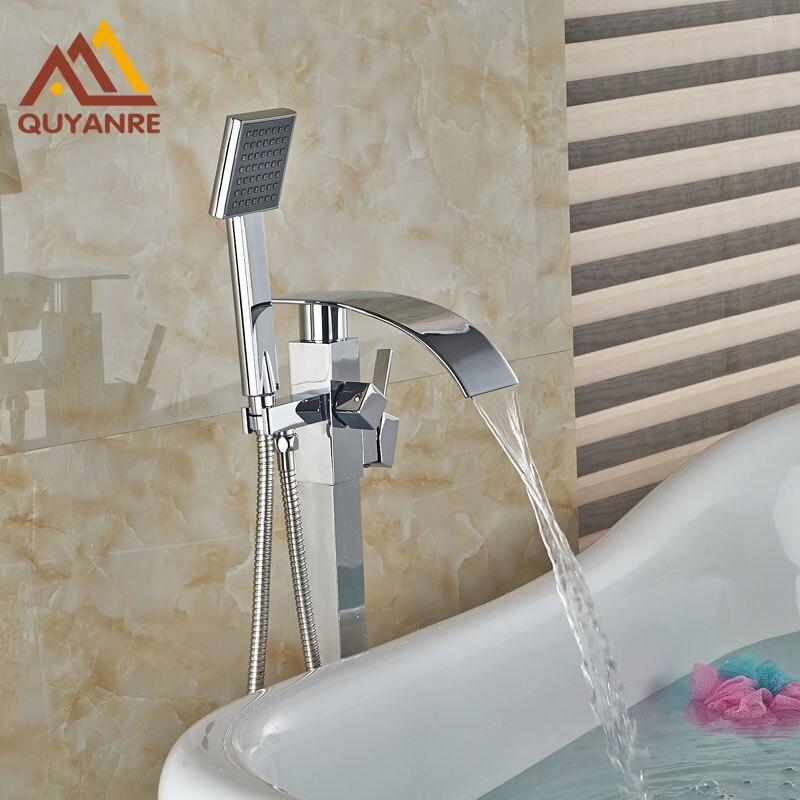 Gowe Power Garden Hand Tools Luxury Deck Mounted Waterfall Tub