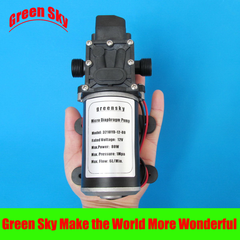145PSI 6L/Min 12V DC 80W mini diaphragm pump145PSI 6L/Min 12V DC 80W mini diaphragm pump