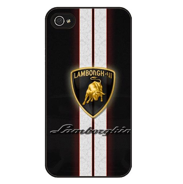 Lamborghini Logo iPhone Cases (3 Types)