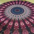 Large Chiffon Printed Indian Mandala Round Roundie Beach Towels Circle Beach Towel Round Yoga Mat
