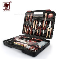 121pcs Tool combination Multi functional home maintenance tools wrench hardware hand tools set box suite Electrical hand tools