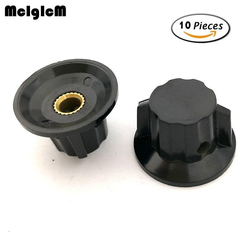 Passive Components Electronic Components & Supplies K18-2 10pcs Wth118 Wx112 Wx111 Bakelite Knob Potentiometer Hat Copper Core 6mm Ear Hole