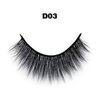 Transparent Hand Made 3d Fashion Synthetic False Eyelash 100 Handmade 0 07 Silk Lashes