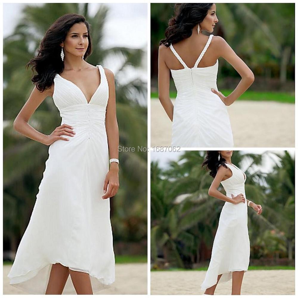 Tea Length Casual Beach Dresses