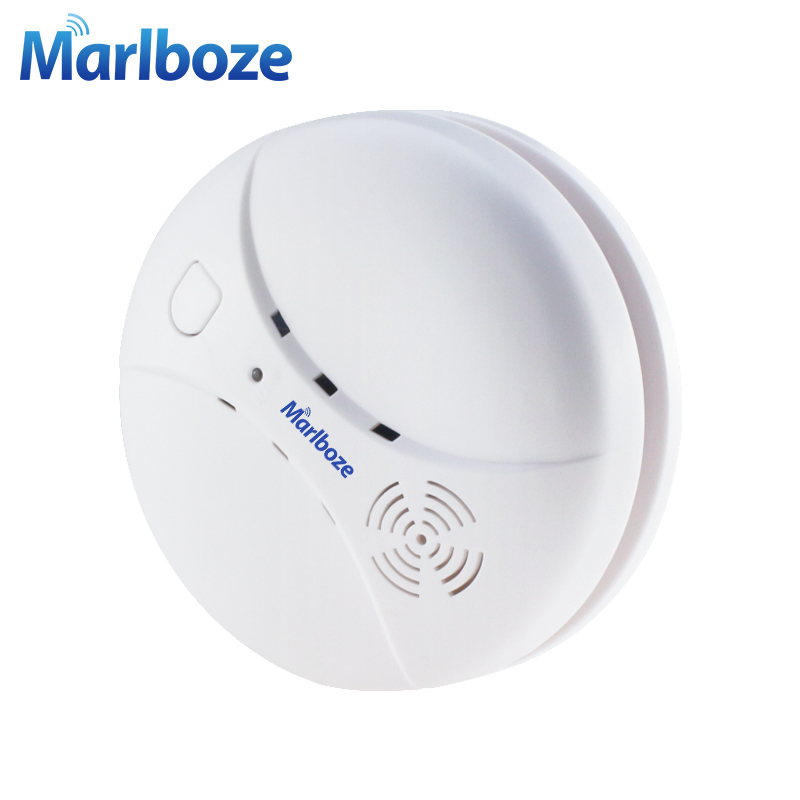 Image 3 - Marlboze Wireless 433mhz Smog Detector Photoelectric Smoke Fire Sensor for Wireless Home Security WIFI GSM Alarm System-in Smoke Detector from Security & Protection