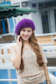 Knitted Caps 2016 New Autumn Winter Fashion Female Natural Mink Fur Hats MZ009