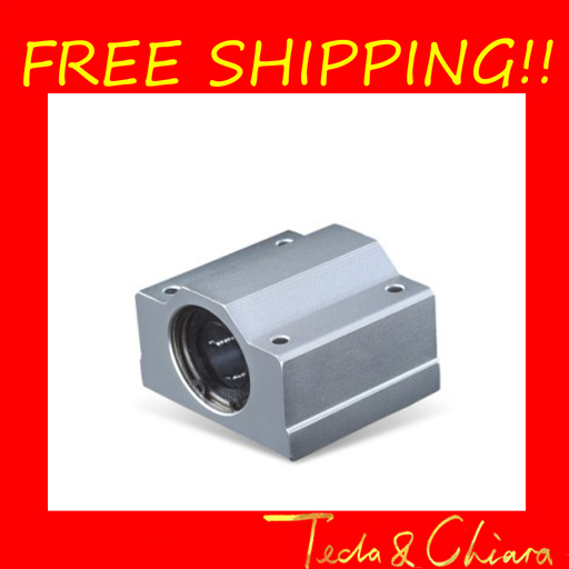 2Pcs SCS10UU SCS10 Linear Ball Bearing XYZ Table CNC Router Free shipping High Quality