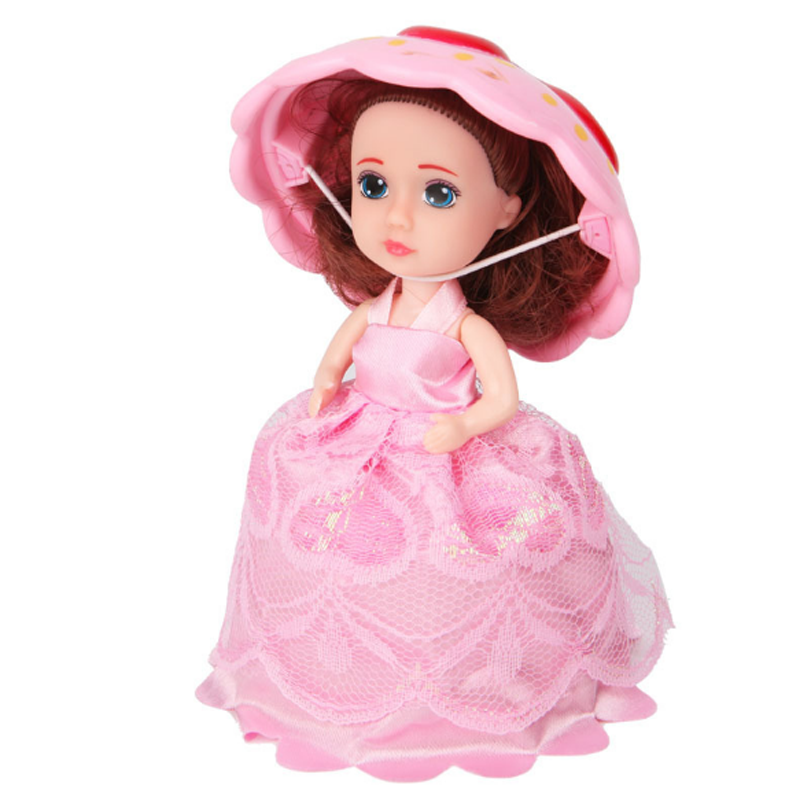 1 Pc Kids Toys Mini Cartoon Cupcake Princess Transformed Doll Surprise Scented Beautiful Kawaii Cake Doll Toys for Children Baby