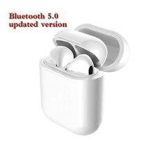 Новинка 2019 года I9 I9S СПЦ беспроводной наушники 5,0 Bluetooth вкладыши мини-наушник для всех смартфонов слуховой аппарат Магнитная Зарядка