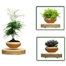 USEBER High-tech Products Magnetic Levitation Air Bonsai No Plant Ceramic Flower Small Pine Pot Culture Decorative Flowerpot
